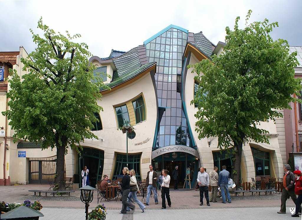 atrakcje turystyczne Sopot Krzywy Domek