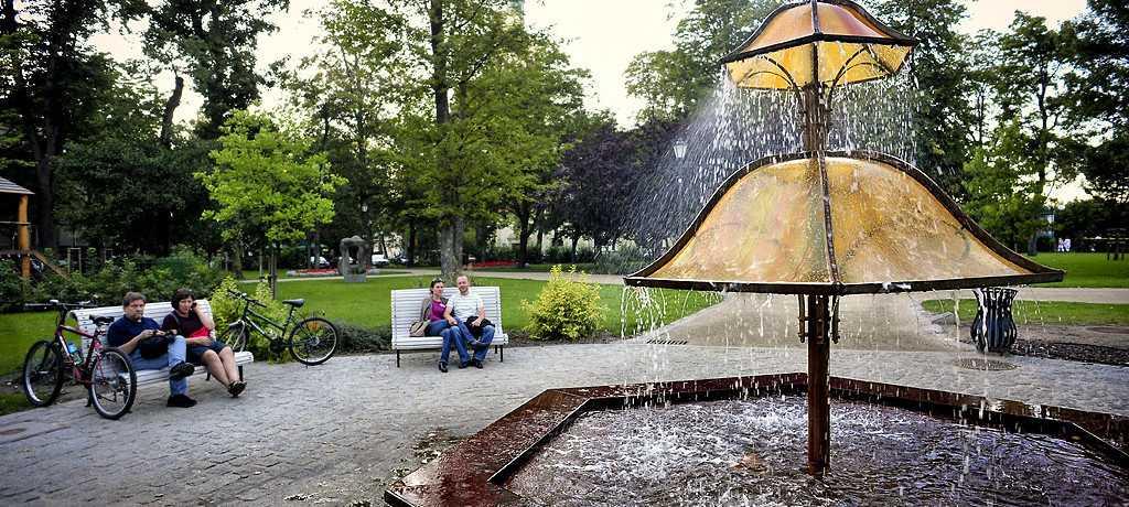 Park południowy Sopot walory naturalne Sopotu