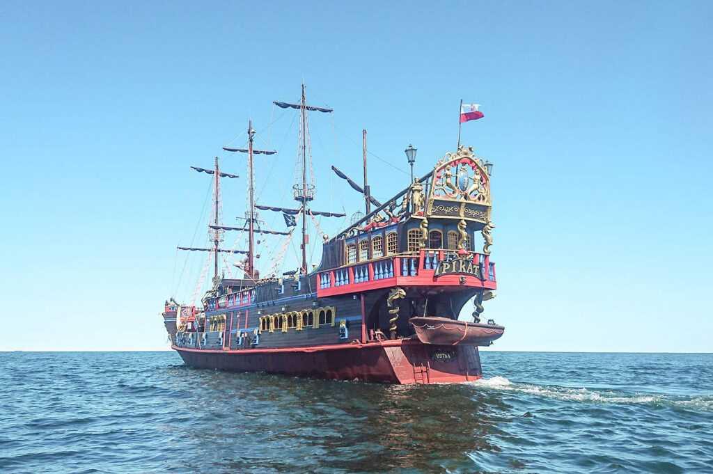 Statek pirat Sopot atrakcje dla dzieci